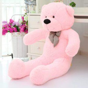 دمية الدب الزهري هدايا أونلاين عمان الأردن
