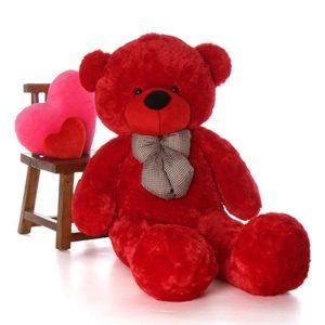 دمية الدب الأحمر  160 سم هدايا أونلاين عمان الأردن