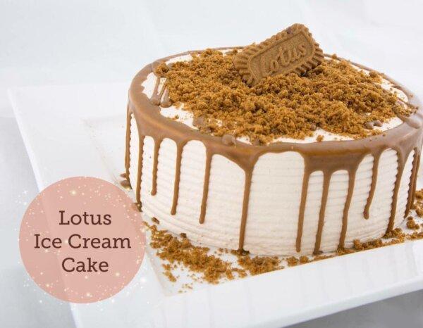 ice lotus cake delivery in Amman Jordan