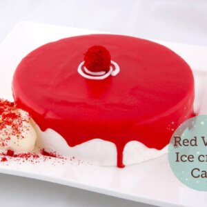 red valvet ice cake delivery in Amman Jordan