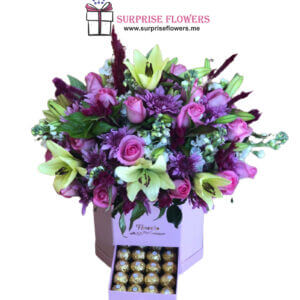 صندوق مزيج الأزهار أونلاين عمان الأردن